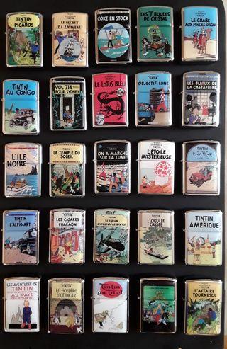 Colección MECHEROS TINTIN