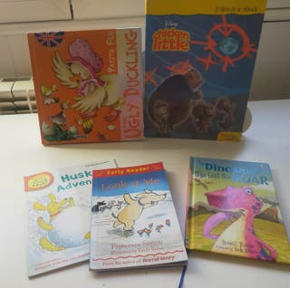 Libros infantiles en Inglés (3-8 años)