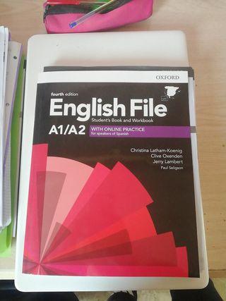 libro de inglés Oxford A1/A2