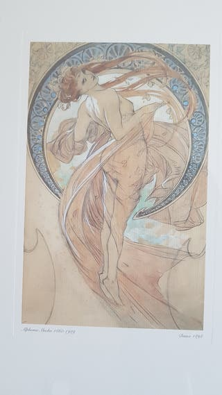 Cuadros laminas Alphonse Mucha