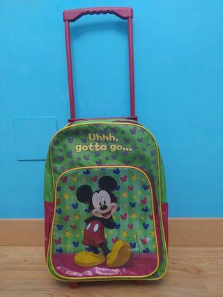 maleta de Mickey Mouse NUEVA