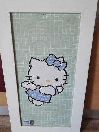 Cuadro decorativo Hello Kitty