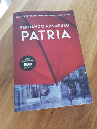 libro patria Fernando Aramburo