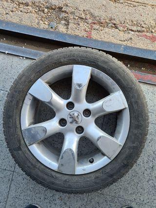 Llanta más neumático Peugeot 307
