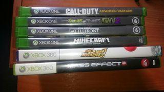 juegos xbox one y 360