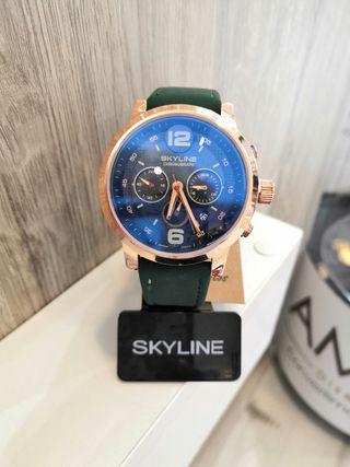 reloj de Hombre skyline