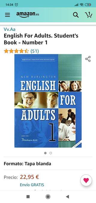 libro de inglés para adultos nivel 1