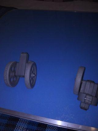 ruedas para andador geriatrico