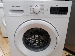 Lavadora marca Daewoo 6 kg 1000 rpm A++