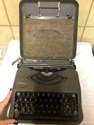 Máquina de escribir vintage HERMES baby
