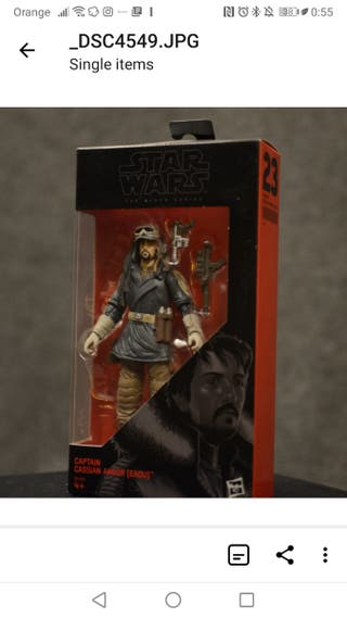 Cassian Andor - Black Series - Star Wars