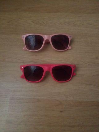 Lote 2 gafas de sol NUEVAS