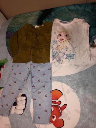 Set ropa niña 18/24 meses