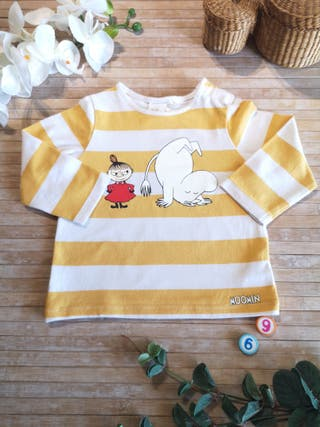 camiseta talla 6 /9 meses manga larga