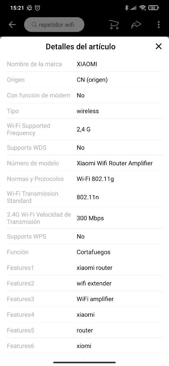 Xiaomi Mi Range Extender Pro Amplificador Wifi 300
