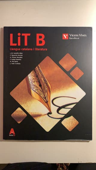 Libro catalán 2, 1 bachillerato