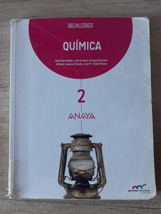 Libro de Quimica 2°Bachillerato Ed. Anaya
