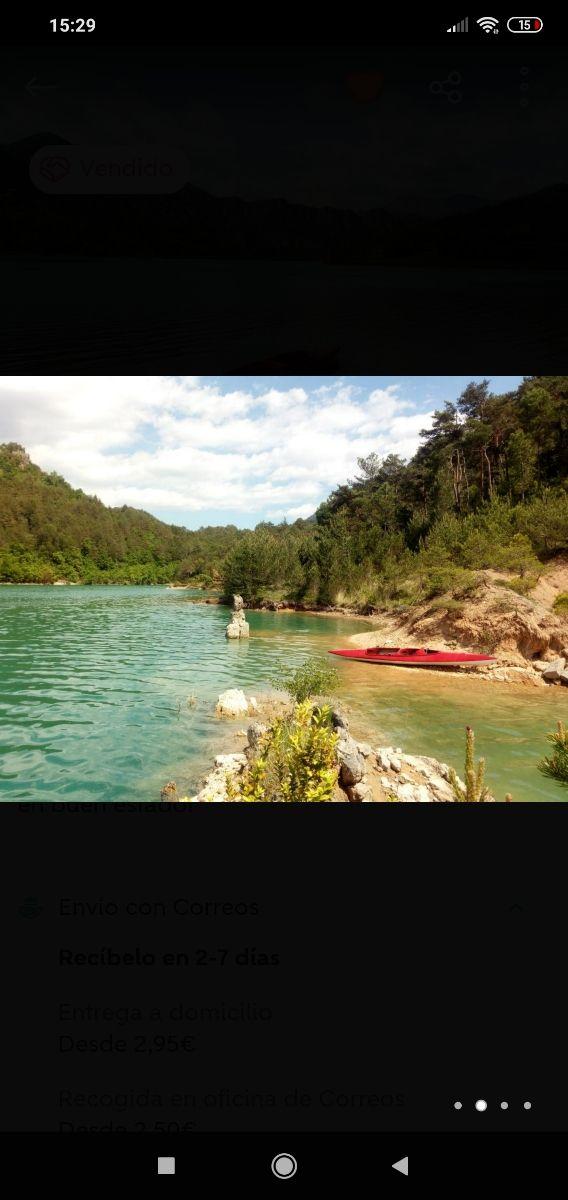 Kayak biplaza rigido