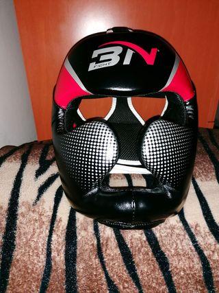 casco de boxeo