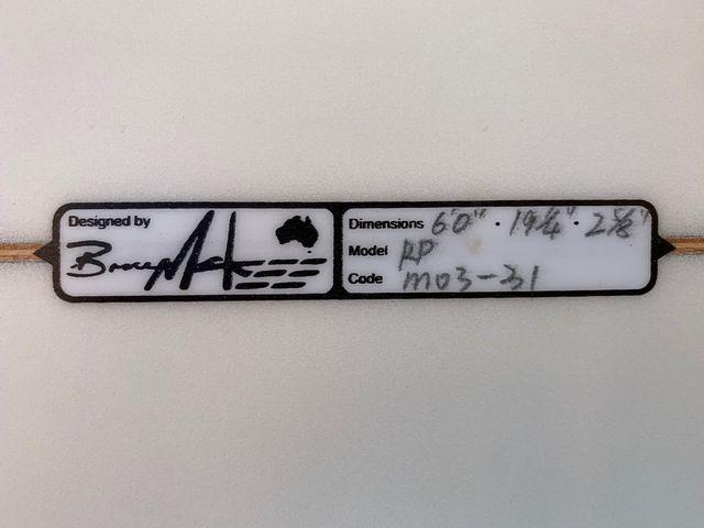 """Tabla de surf Moor Mckee 6'0"""""""