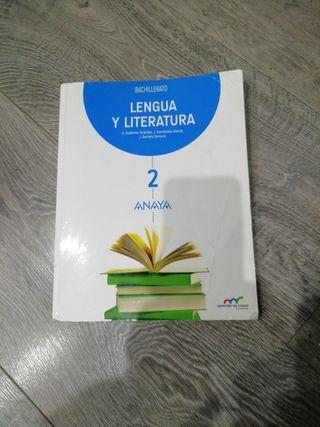 Lengua y Literatura de Anaya 2 bachillerato