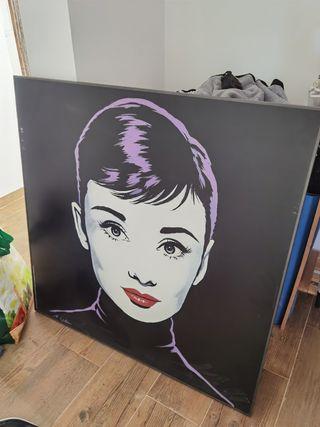 lienzo Audrey Hepburn