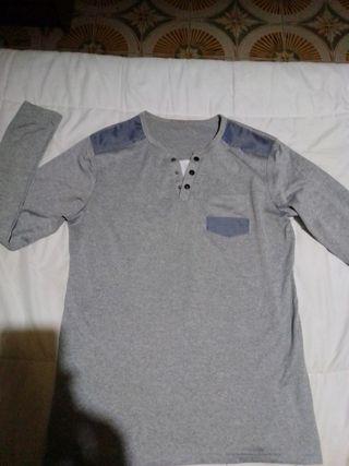 camiseta manga larga hombre talla m