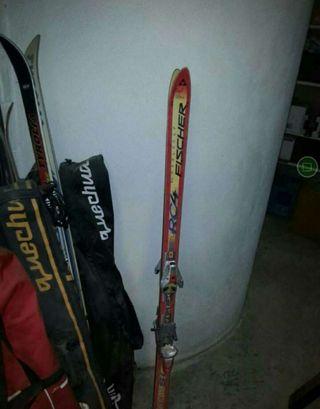 esquís, fischer
