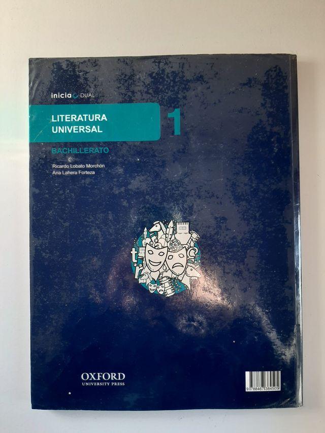 Libro literatura universal Oxford.