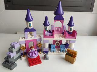 lote 80 piezas lego duplo.El castillo real Sofía