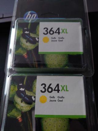 cartouche d'encre HP Photosmart 364XL JAUNE