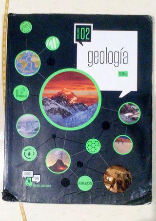 GEOLOGIA 2º BACHILLER (DOS LIBROS)