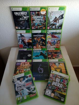 12 XBOX GAMES PACK