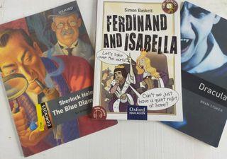 Libros de lectura en Ingles (A2, B1 y B2)
