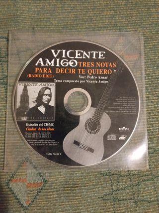 CD SINGLE GUITARRA FLAMENCA VICENTE AMIGO