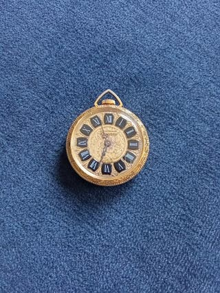 Antiguo reloj de señora. Con baño de oro