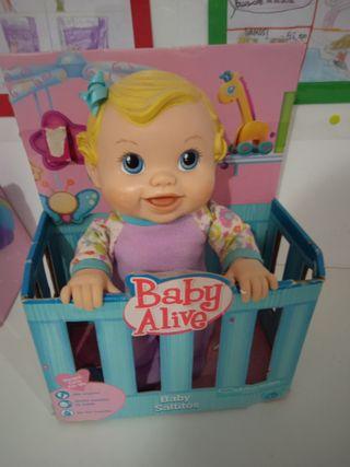 Muñeco baby alive
