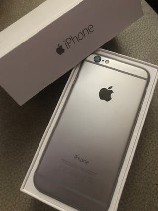 Vendo iPhone 6, con cargador original.