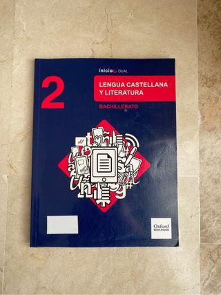 LIBRO LENGUA Y LITERATURA NUEVO 2º BACHILLERATO