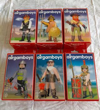 Airgamboys figuras articuladas 8.5cm airgamboys