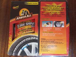 Abrillantador neumáticos