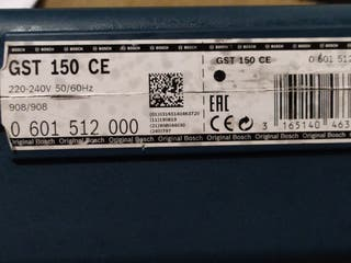 vendo caladora GST150 CE