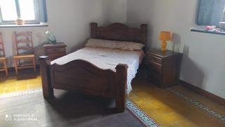 Juegos de muebles de madera artesanal gran calidad