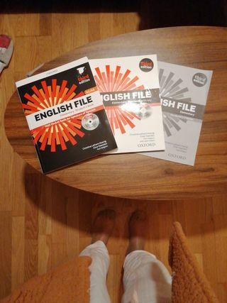 libro inglés escuela de idiomas A1/A2