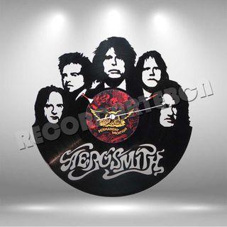 Reloj de Disco LP de Aerosmith