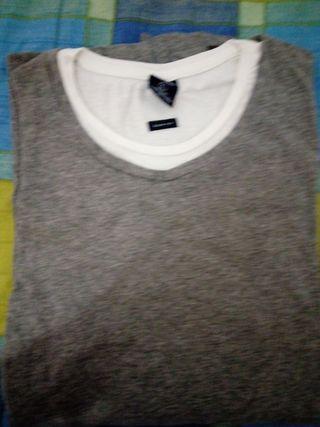 camiseta de manga larga de hombre,talla L