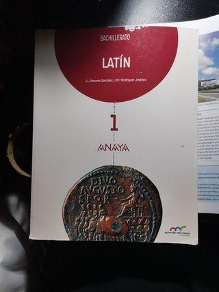 Libro de Latin Anaya