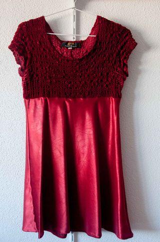 Vestido Babydoll Rojo - talla 12/38