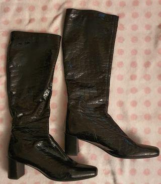 Botas negras de mujer Mascaró