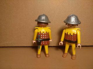 Playmobil lote 2 Soldados medievales ref. 3653